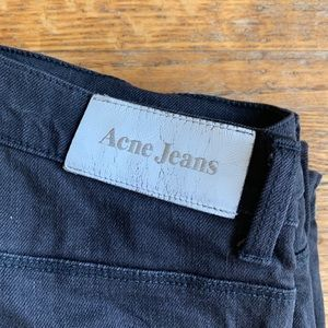 Black Acne Jeans.